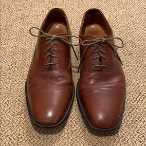 Cole Haan Leather Laceups